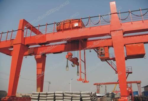 Double-Beam Gantry Crane with Hook