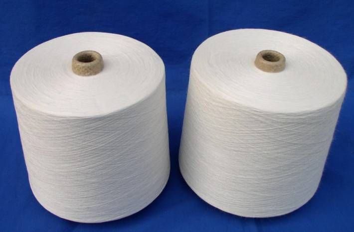 virgin white combed cotton yarn for knitting