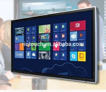 Hight Resolution 84 Inch IR Multi Touch TFT TouchScreen LCD Monitor for Teaching, Presentation