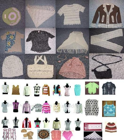 Hand Knitted And Crochet Apparel
