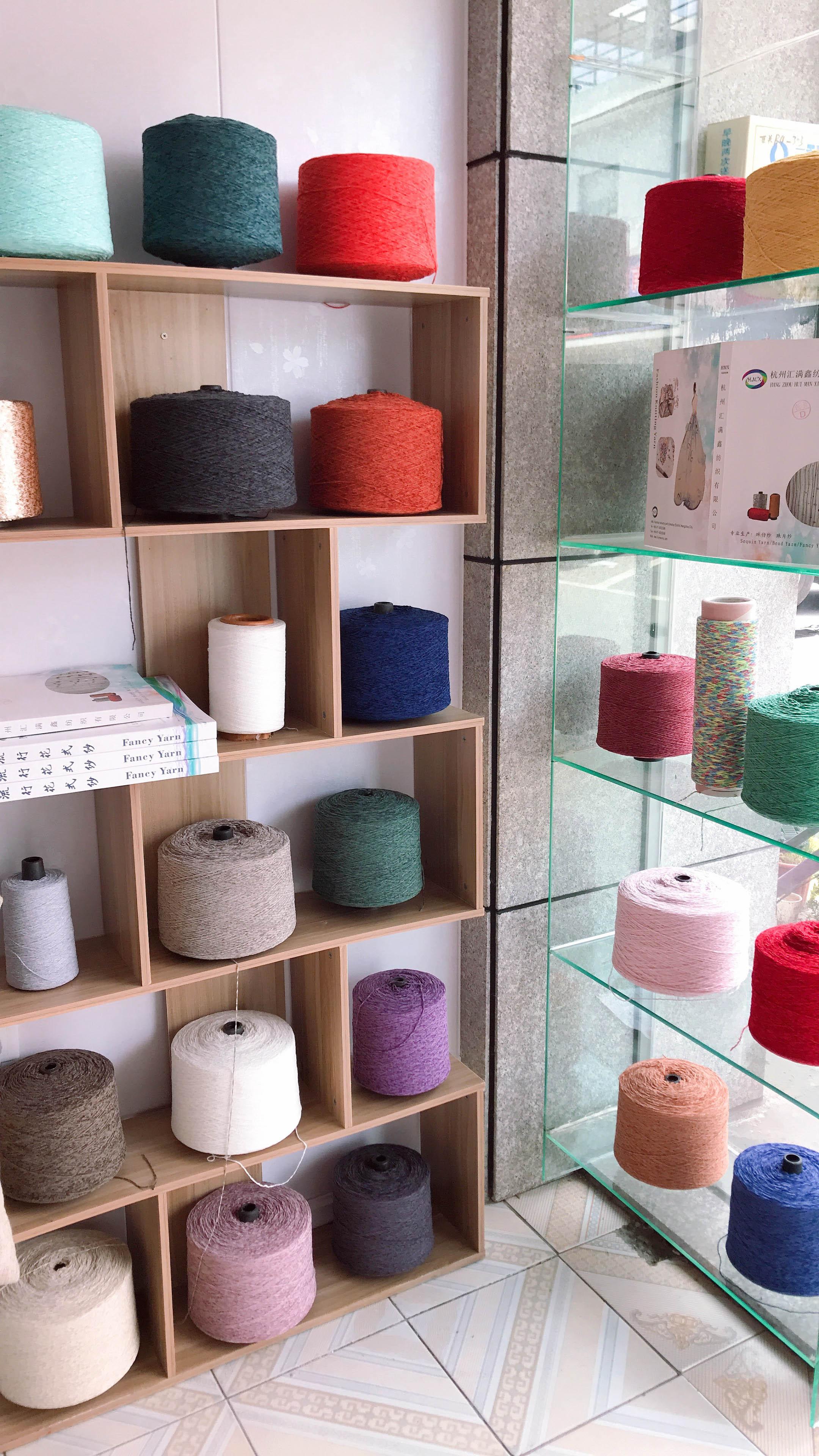 1.8NM-15NM Chenille yarn 100%Polyester