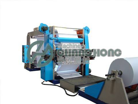High Speed 2 Color Flexographic Paper Printing Machine(CH-882)
