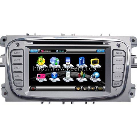 All-in-one Special Car DVD Player for Ford Mondeo / Focus 09 / S-MAX