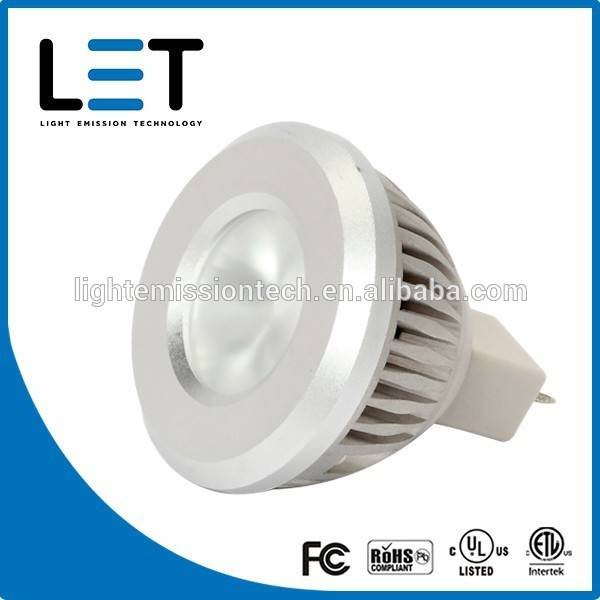 25w halogen replacement Mr16 gu10 12v led spot light 4w ul