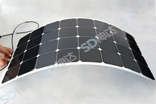 50W flexible solar module