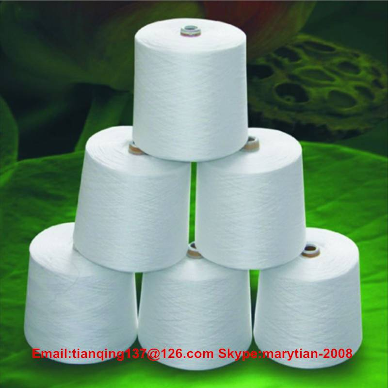 100% spun polyester sewing thread 20s/2 raw white from weaver ltd