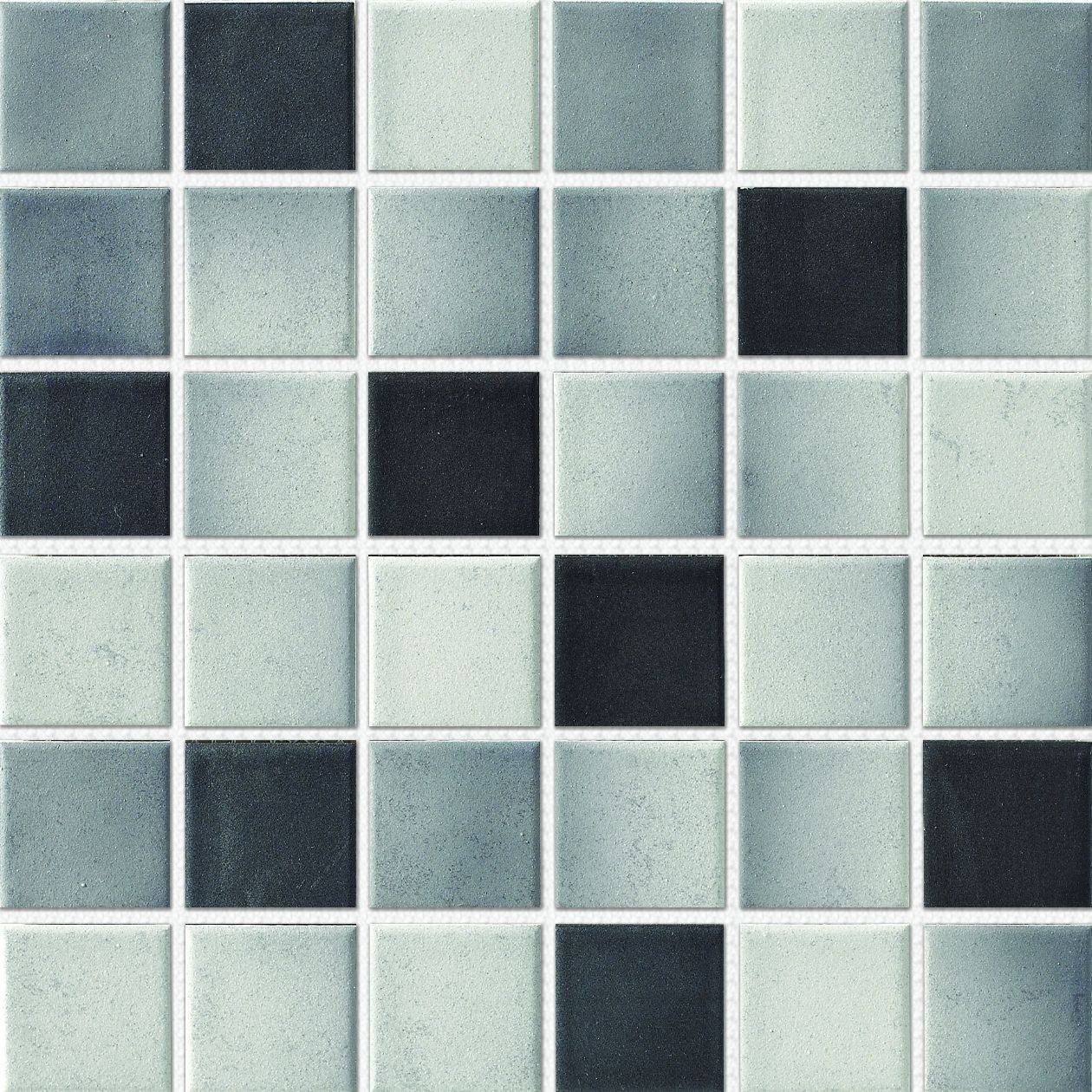 48X48mm Rustic Shading Color Porcelain Mosaic