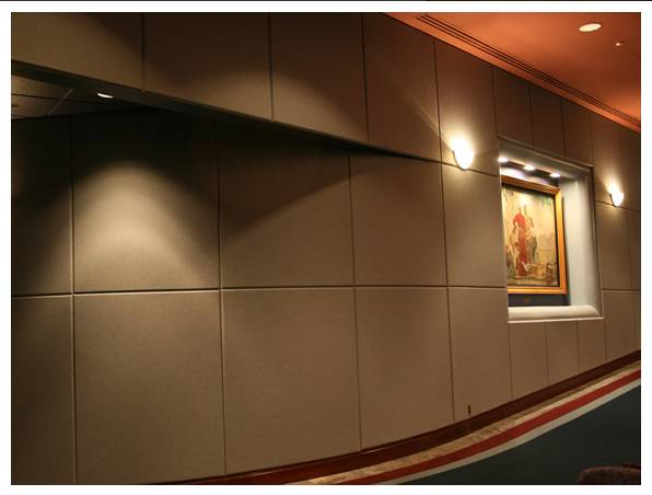 Fabric Acoustic panel from china
