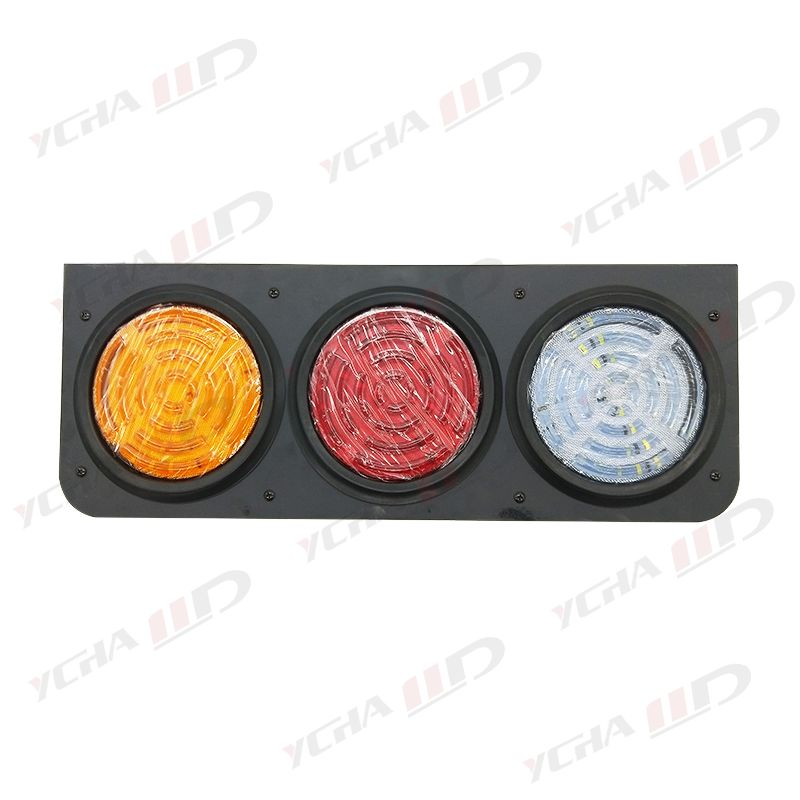 Hight quality Customized 4 inch round led trailer tail lights for stop turn signal