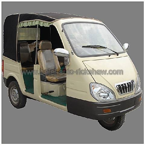 Bajaj Auto Rickshaw passengers 3-wheeler motor tricycle BA200ZK-X