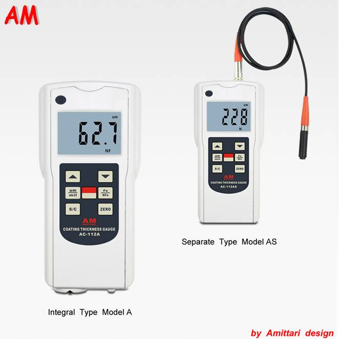 paint coating thickness gauge AC-112A/AS