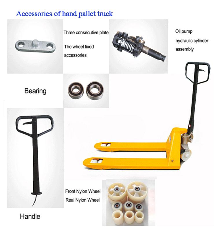 new JOGSOP Brand hand pallet truck 2-2.5-3-5T 550/6851150/1200/1220