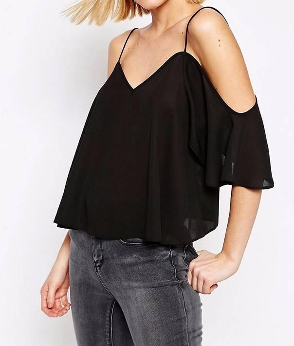 wholesale new elegant design casual lady blouse women chiffon blouse New design women sexy t shirt