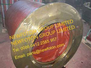 Inlet screw of ball mill