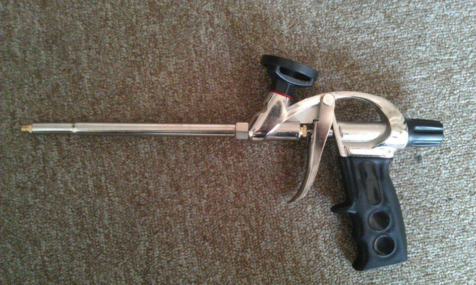 Teflon coated PU foam gun