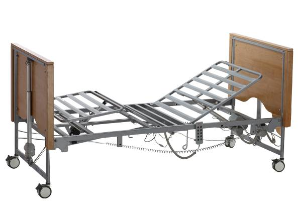 Five function electric folding bed