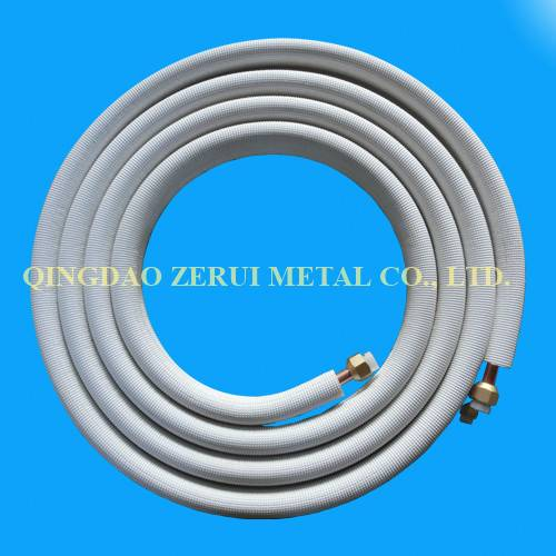 100% Copper Made Insulated Air Conditioner Pipe