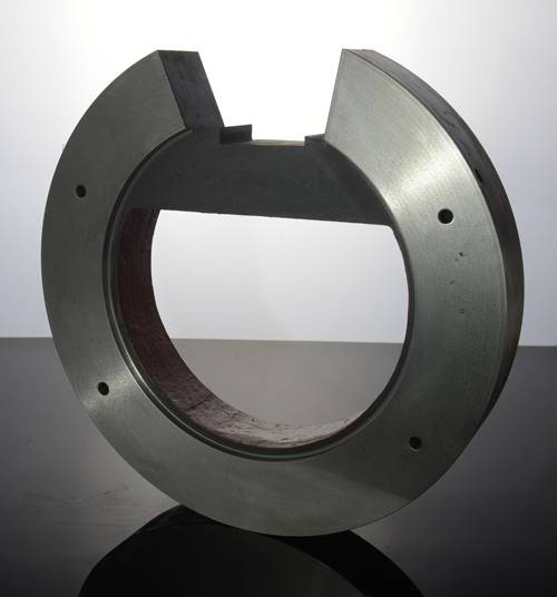 Grinding ball plate
