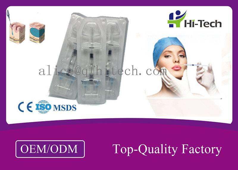 Sub skin 1.25 - 2.0mm Particles Soft Tissue Hyaluronic Acid Dermal Filler For Nose / Rhinoplasty 8 -