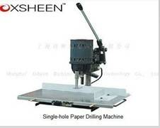 single hole paper drilling machine