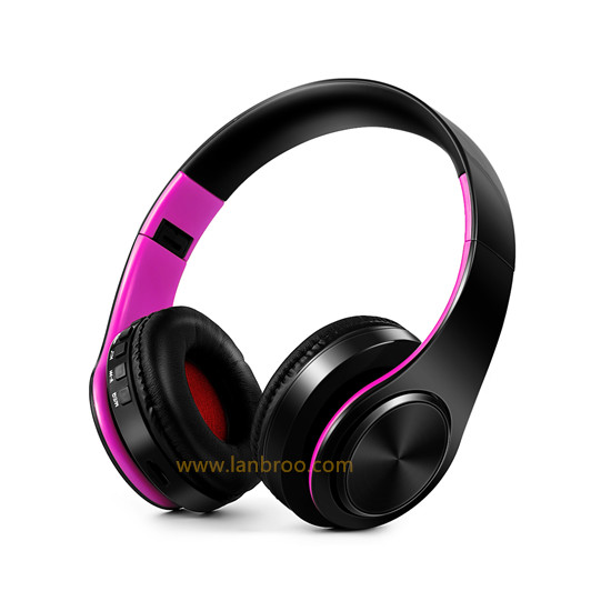 Stereo Mobile Headphone Phone Wireless Bluetooth Headset