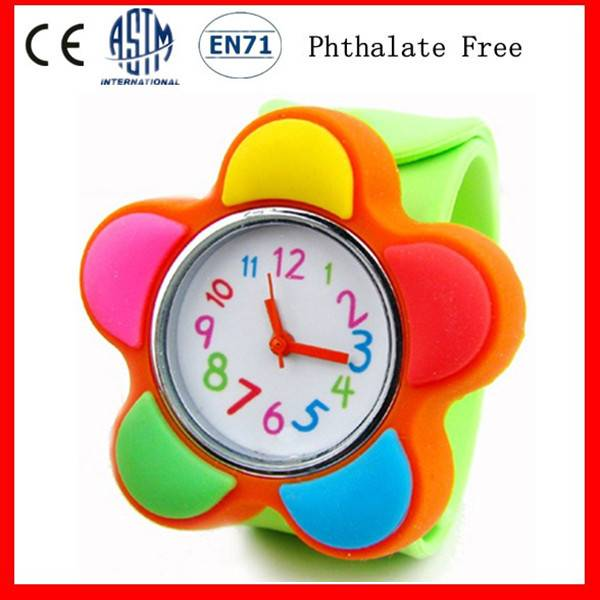 Hot Sell Rainbow Silicone Watches