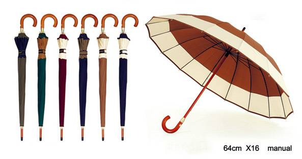 25x16K Golf Umbrella