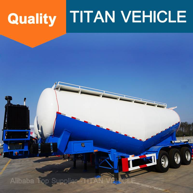 TITAN Steel Material and Semi-Trailer Type bulk cement trailer tank Semi Trailers for Sale