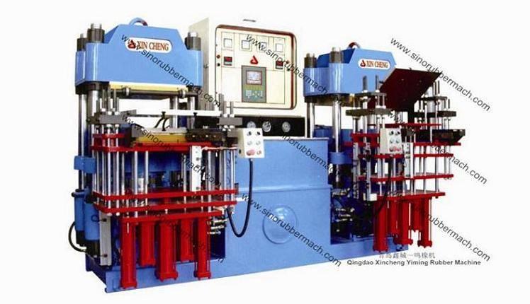 Precision Rubber Parts Molding Press Machine