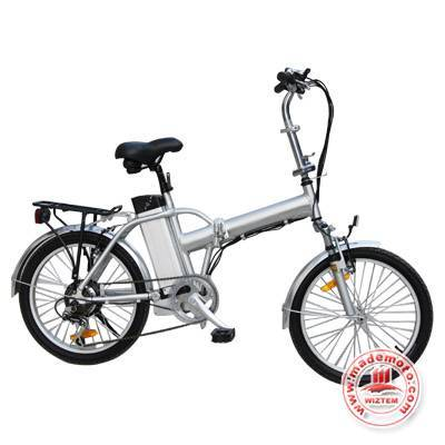 Foldable Lithium Electric Bicycle with Light Aluminum Frame LB1804