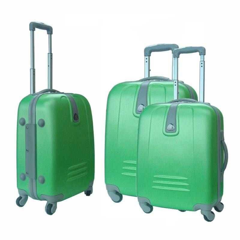 ABS luggage with 4 wheels