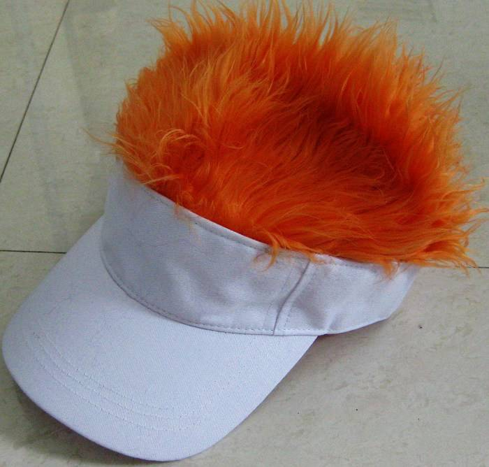 hat hair visor for christmas gift