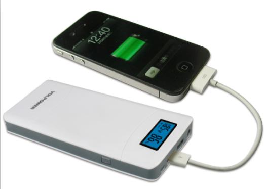 Fcc ce rohs universal power bank 15600mah external battery charger