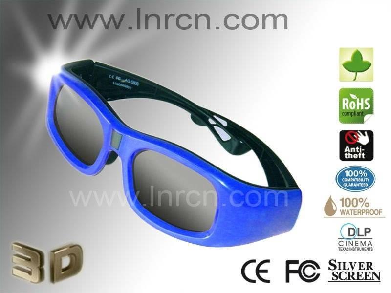3d active glasses for cinema