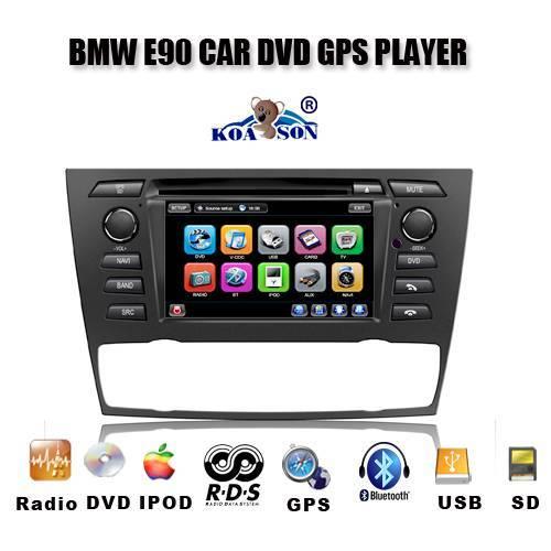 Car DVD GPS Player BMW E90 / E91 / E92 / E93 For BMW 3 Series 2005 -now BMW E81 /E82 for BMW 1 serie
