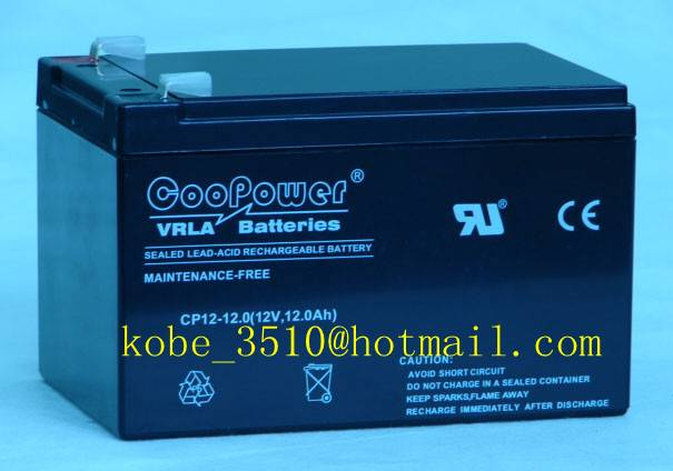 Sealed Lead acid battery 12V12ah