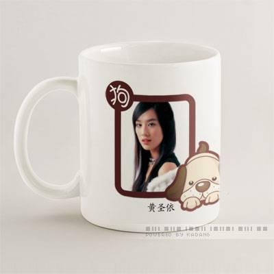 sublimation blank coated mug(high quality coating)