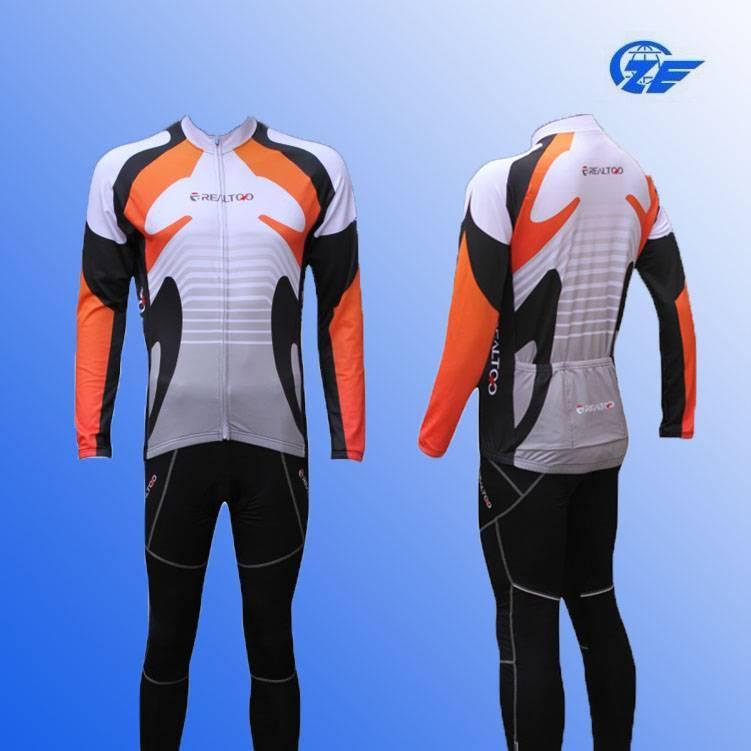 2014 Cycling Wear Long Sleeve Jersey Cycling Skin Suit Cheap China Cycling Clothing
