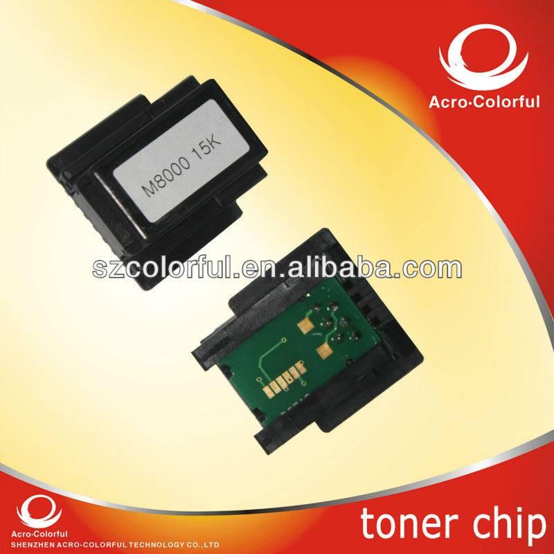 cuLaser M8000N laser printer S051188 toner cartridge spare parts reset toner chip for epson