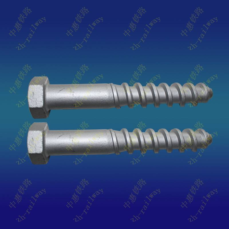 Hexagon screw spike 24x160 for subway parts