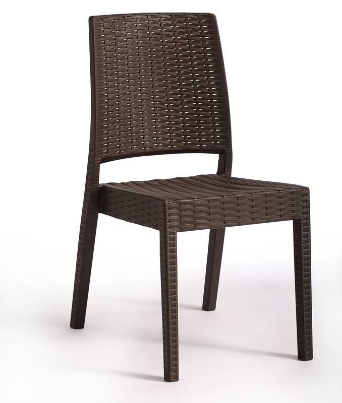 woven pattern , PP rattan chairs, suitable for dining, outdoors , living room