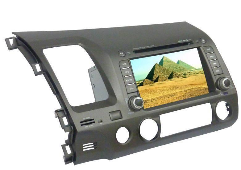 7.0 inch car GPS DVD player for Honda-Civic(Digital screen)