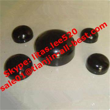 iron Carbon steel Pipe caps pipe fittings