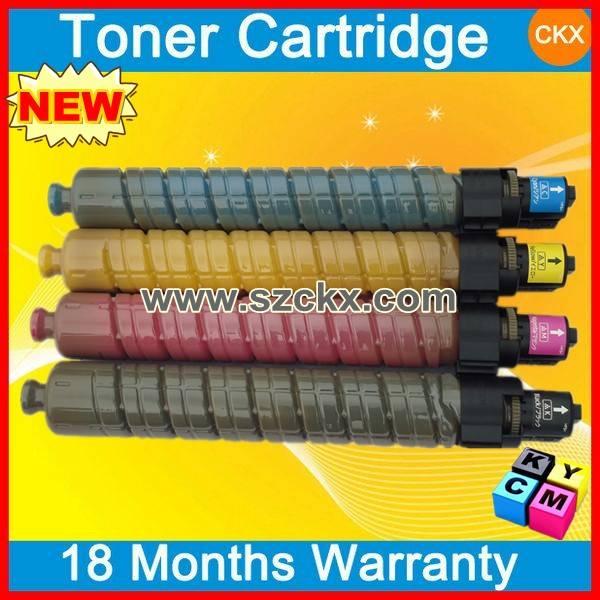 Printer Color Toner Cartridges MPC3000 for Ricoh Aficio MPC2500 Copier