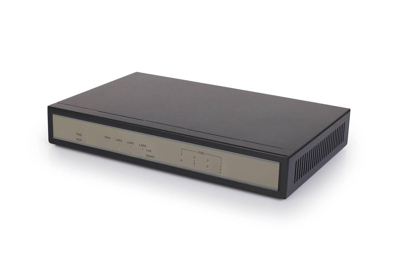 1/2/4/8 FXS Analog VoIP Gateway
