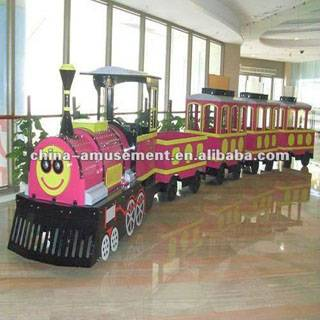 Parks and Recreation Equipment of Electric Train