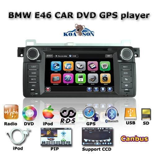 Car DVD GPS Player BWW E46( 1998-2006)