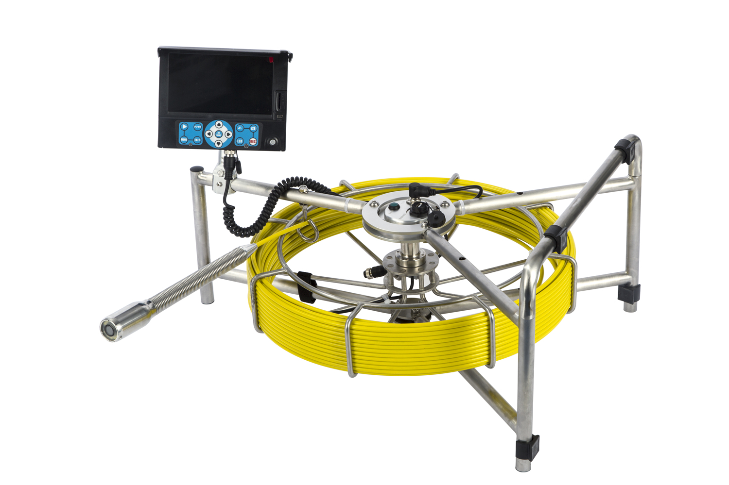 Light weight design Pipe inspection camera for water lek detection cmaera