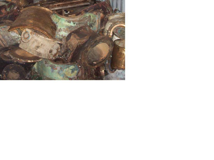 Red Brass (gun metal) Scrap available for sale