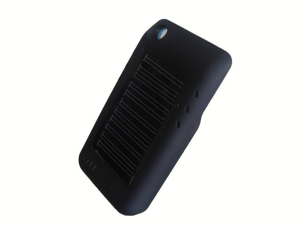 portable solar external rechargeable battery case for iPhone